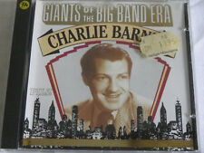 CD CHARLIE BARNET - PILZ - GIANTS OF THE BIG BAND ERA