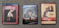 Schindlers List Saving Private Ryan Amistad - Blu-ray/Dvd - Spielberg Hanks Wwii