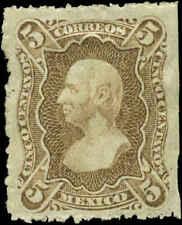 Mexico Scott #106e Mint  Without Overprint