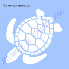"4"" TURTLE STENCIL STENCILS TURTLES TEMPLATE TEMPLATES BACKGROUND CRAFT PAINT NEW"