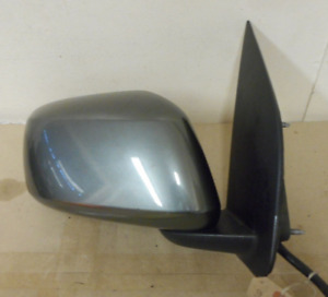 NISSAN NAVARA D40 2008. O/S DRIVER SIDE WING MIRROR IN GREY