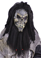 HALLOWEEN ADULT FEARSOME FACES SKULL  MASK PROP