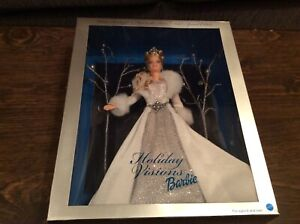 Holiday Visions Barbie Winter Fantasy First In The Series 2003 MATTEL B2519