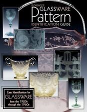 GLASSWARE PATTERN IDENTIFICATION GUIDE BOOK (1920s thru 1960s) BY GENE FLORENCE