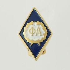 Sigma Alpha Epsilon Pledge Pin - Vintage fraternity Crest Greek Society Enamel