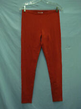 NWOT Women's Cotton Blend Leggings Size Small Red #358E