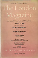 SYLVIA PLATH-1958-THE LONDON MAGAZINE & THE INVENTION OF HUGO CABRET-1ST/1ST!