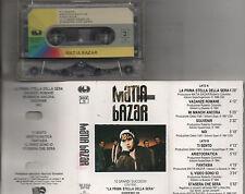 MATIA BAZAR musicassetta originale STAMPA ITALIANA Omonimo Same 1988 mc tape