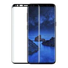 Samsung Galaxy S9 Schutz Folie Gebogen Voll Front Screen Protector Film Schwarz