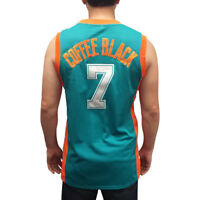 Coffee Black #7 Flint Tropics Green Basketball Jersey Semi Pro Costume Clarence
