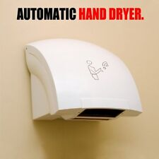 Automatic Hand Dryer Hands Free Electric Infrared Commercial Bathroom 120/220v