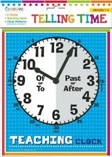 NEW Telling Time Clocks Includes 2 Clocks w/ Movable Hands Teaching Ideas & More