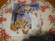 Lot Of 4 Pop Up Frame Angel Christmas Cards