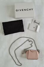 Givenchy Baby Antigona Candy Pink Leather Micro Bag New