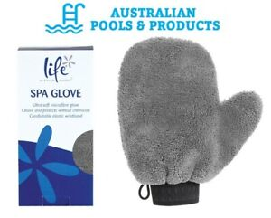 Cleaning Glove Spa Pool Mitton Microfiber Cleaning Tool Non-Chemical Life Spa