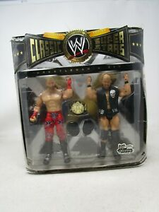 2009 Mattel WWE Classic Superstars  *SHAWN MICHAELS VS. STEVE AUSTIN* (NOS)