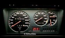 VW Polo 86C G40 Tacho Blau Rot Weiß OEM grün LED Polo III