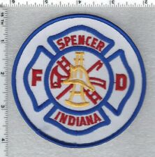 Spencer Fire Department Indiana) Shoulder Patch version 1