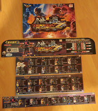 NAMCO Tekken 7 Fated Retribution Marquee Art Set (CARD) for Vewlix
