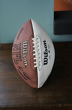 Washington Redskins Larry Brown Terry Allen Signed NFL Wilson Football
