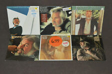 KENNY ROGERS 6 LP RECORD ALBUM LOT COLLECTION Gideon/What About Me/Eyes That See