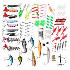 125x Fishing Tackle Accessories Kit Sinker Bead Hooks Swivel Terminal Tackle