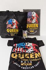 Queen & Adam Lambert Poster, Tote bag, Tee Shirt & Lanyard
