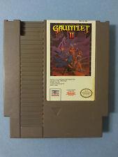NES GAUNTLET 2 Nintendo Tengen Atari Cleaned Tested - FREE SHIPPING -