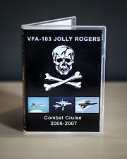 VFA-103 Jolly Rogers F/A-18F Super Hornet Combat Cruise 2006-2007 DVD Video