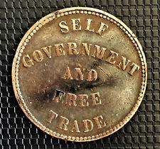 1/2 PENNY 1857 ILE DU PRINCE EDOUARD (PROVINCE DU CANADA)