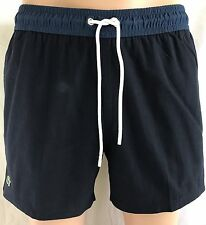 NEW LACOSTE Cotton/Nylon Blend Men's Swim Trunks/Shorts, Sizes S, M, L, XL