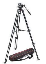 Manfrotto MVK500AM twin leg & MVT502AM head & bag video system