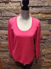 EUC Talbots Pure Cashmere Sweater - Watermelon - Pink - Medium