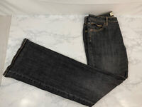 Gap Flare Stretch Jeans Womens 10L Long Tall Stonewash Denim Pants P