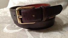 COACH Men's Brown Leather Belt Size 36