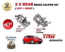 FOR SEAT LEON & SPORT  2005-2012 NEW 2x REAR LEFT + RIGHT SIDE BRAKE CALIPER SET