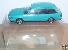 MICRO RIETZE HO 1/87 AUDI A6 AVANT BLEU TURQUOISE IN BOX