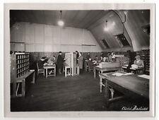 PHOTO - Cliché BASTIDE - Chèques postaux - Tri - Métier - LA POSTE - Vers 1930.
