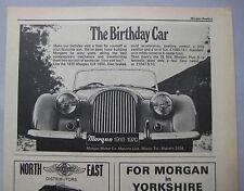 1970 Morgan 4/4 1600 Original Anuncio