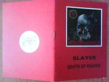 SLAYER - south of heaven - booklet with lyrics