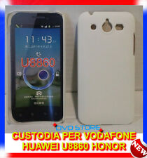 Pellicola + custodia back cover case BIANCA per Huawei U8860 Honor