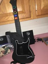 Sony PS2 Guitar Hero Mando Inalámbrico Kramer Striker Negro No Dongle 95119