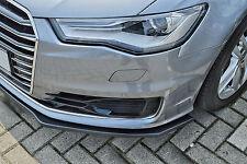 Sonderaktion Spoilerschwert Frontspoilerlippe ABS für Audi A6 C7 4G Facelift ABE