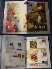 REPUBBLICA FOLDER NATALE  2003 COMPLETO  NUOVO