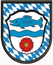 Wappen von Wörthsee  Aufnäher, Patch Pin, Aufbügler