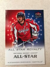2008-09 Fleer Ultra All Star Royalty ASR1 Alex Ovechkin Washington Capitals Card