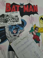 "Sheldon ""Shelly"" Moldoff Batman & Robin original art 1994"