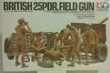 Tamiya 1/35 scale British 25 pdr. field gun