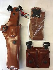"Galco Vertical Shoulder Holster, Ambi S&W  N FR .44 Model 29/629 6"" VHS132"
