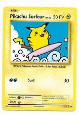 Carte Pokemon Pikachu Surfeur Secrète Rare (111/108) NEUVE